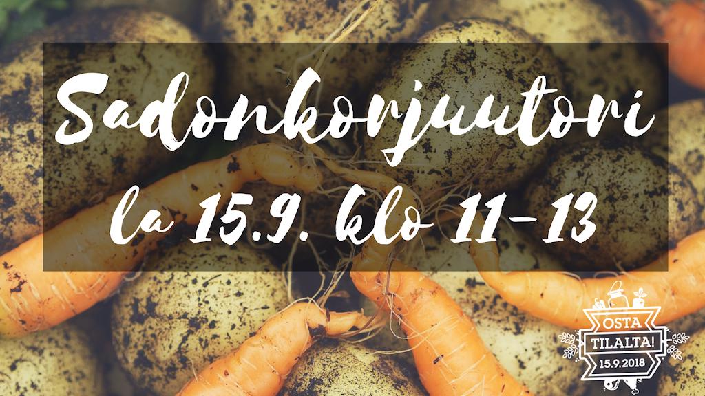 Koikkalan Sadonkorjuutori la 15.9.